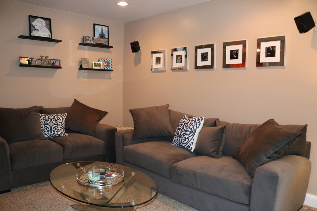 HOME TOUR: Living Room - Living room decor on a budget on Coming Up Roses