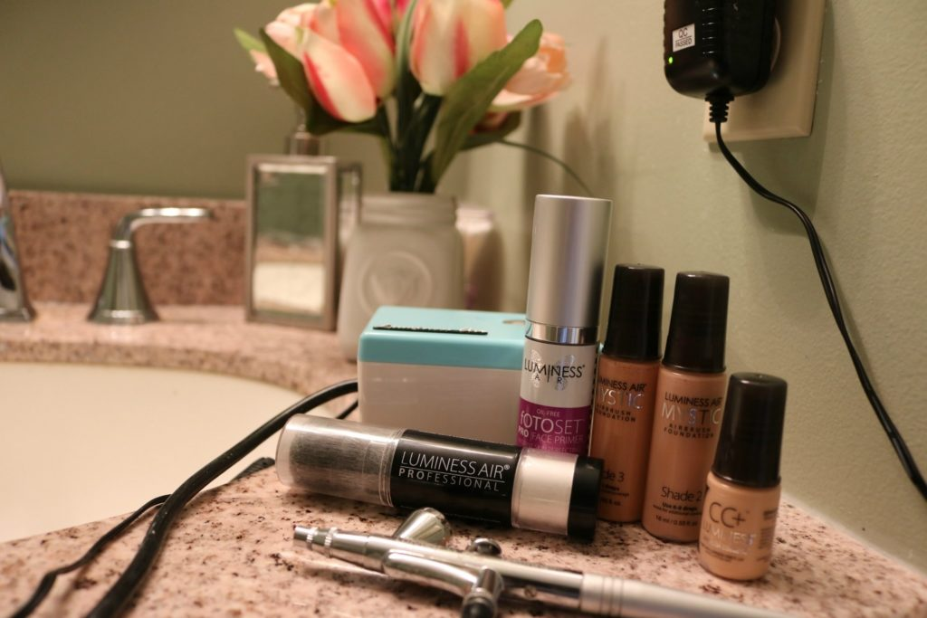 Luminess Air Mystic Airbrush Foundation - Must-haves for the traveling bridesmaid on Coming Up Roses