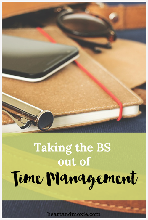 time management tips from Coming Up Roses