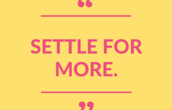 """Settle for More."" (+ WIN $500 to Nordstrom!)"