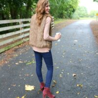 Trend to Try: Burgundy Booties