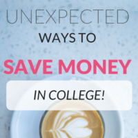 8 Unexpected Ways to Save Money in College