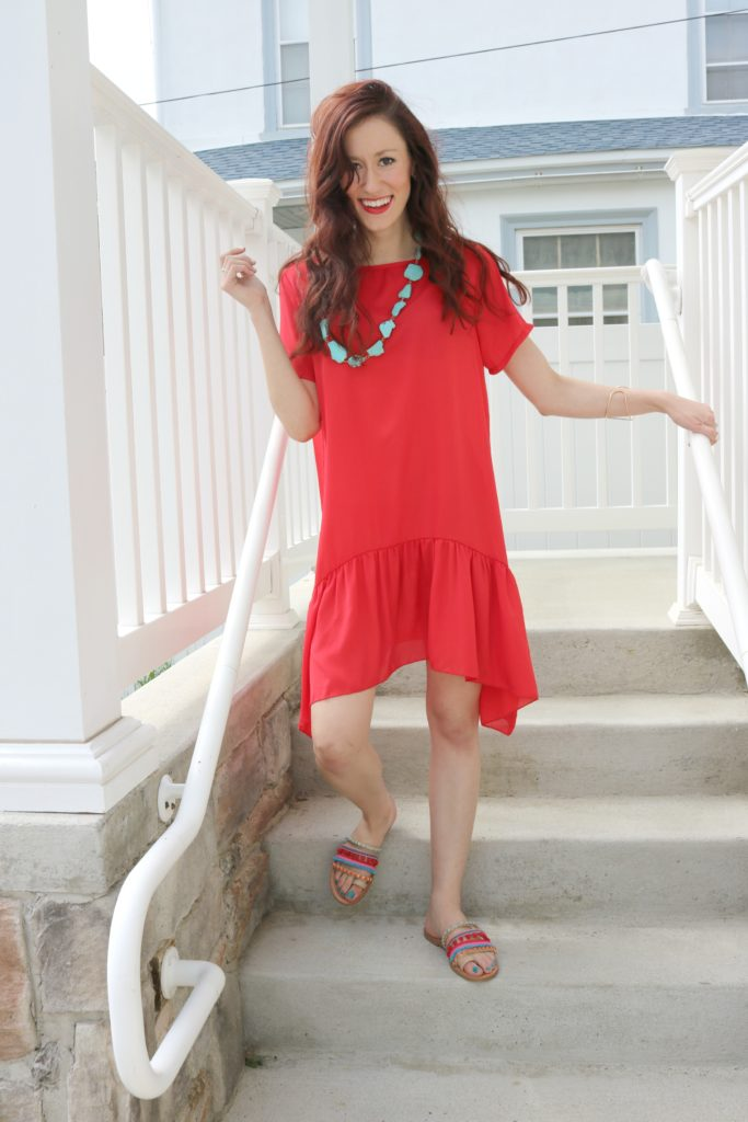 How to feel Confident in a Red Dress