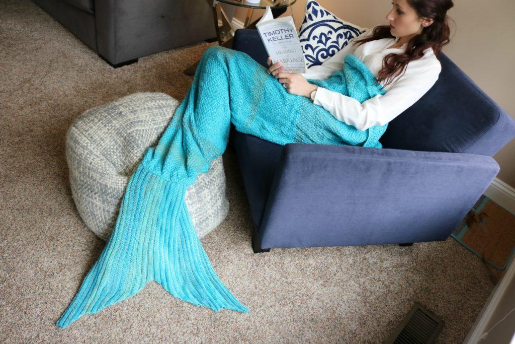 $13 Mermaid blanket