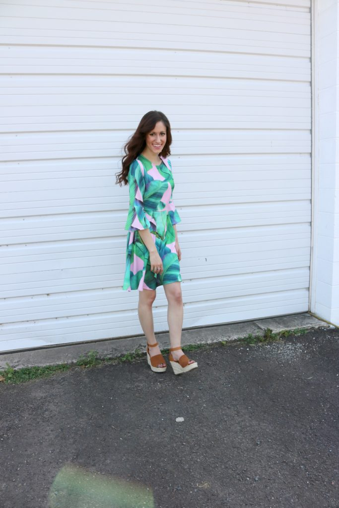 Palm print dress - How to wear and shop for Palm Print