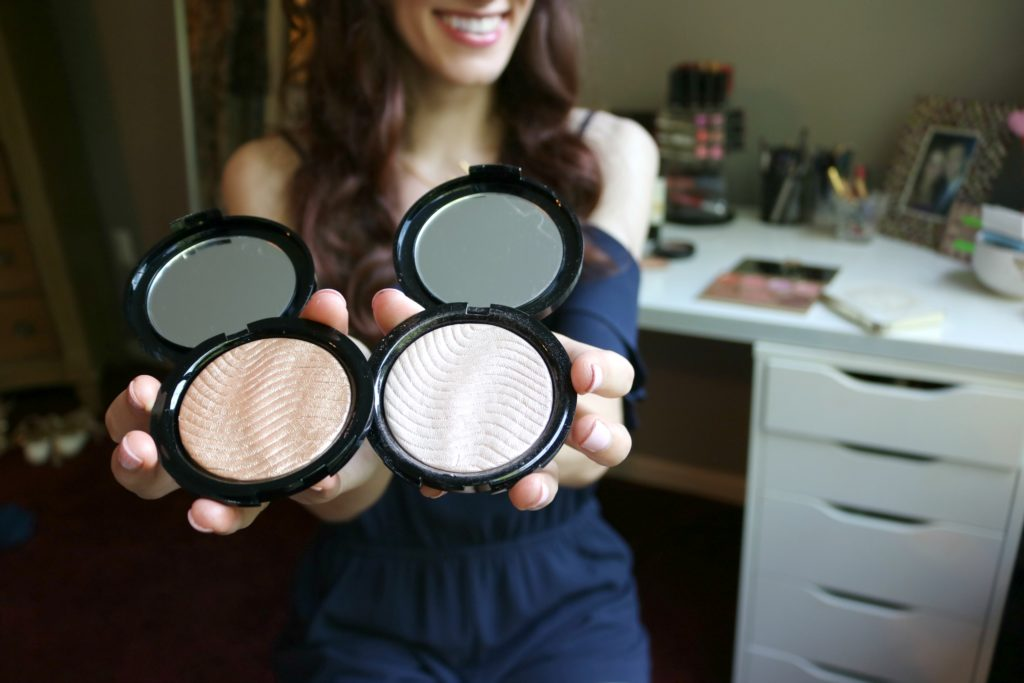 How to get glowing skin - Favorite highlighters for gorgeous, dewy summer skin!