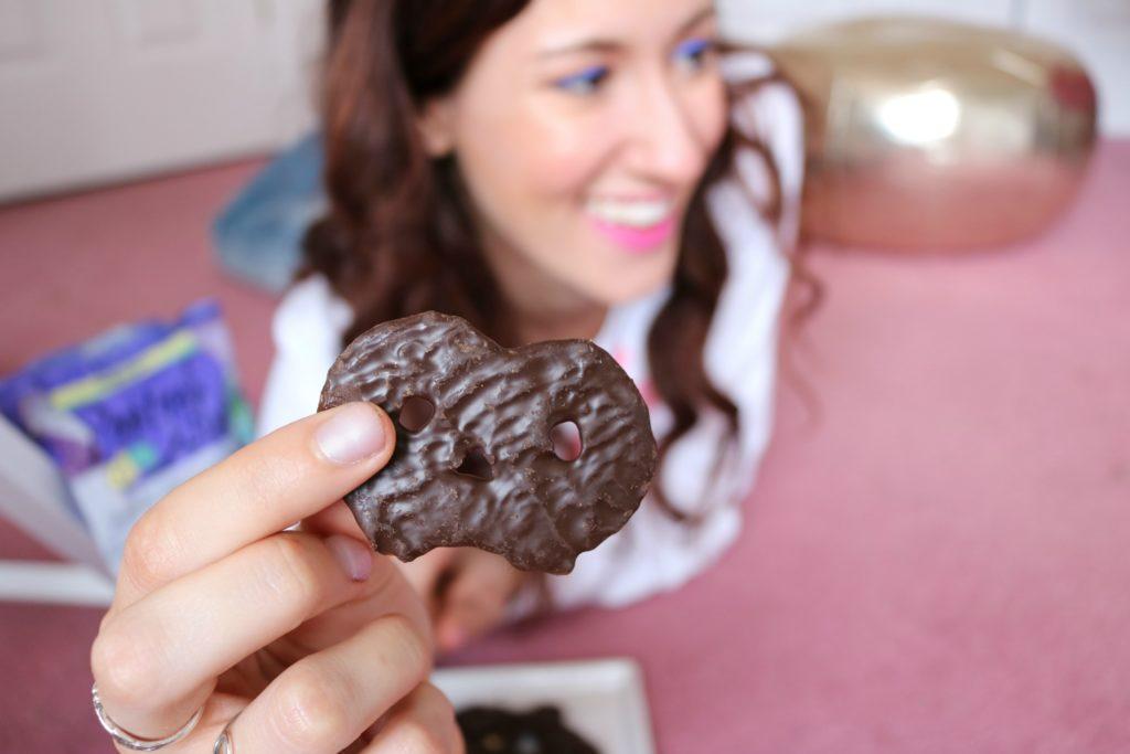 Trader Joe's dark chocolate pretzel thins