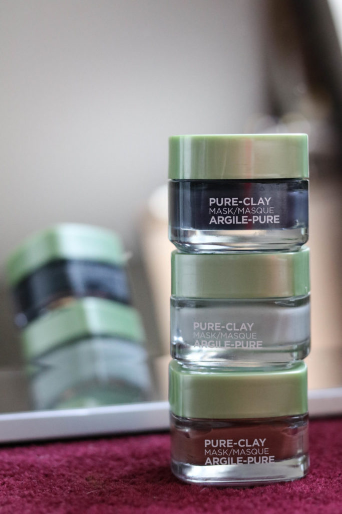 L'Oreal Pure Clay Masks - Things I Love July