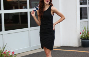 1 Thing, 3 Ways: Ruched Bodycon Dress (AKA the most flattering dress ever)