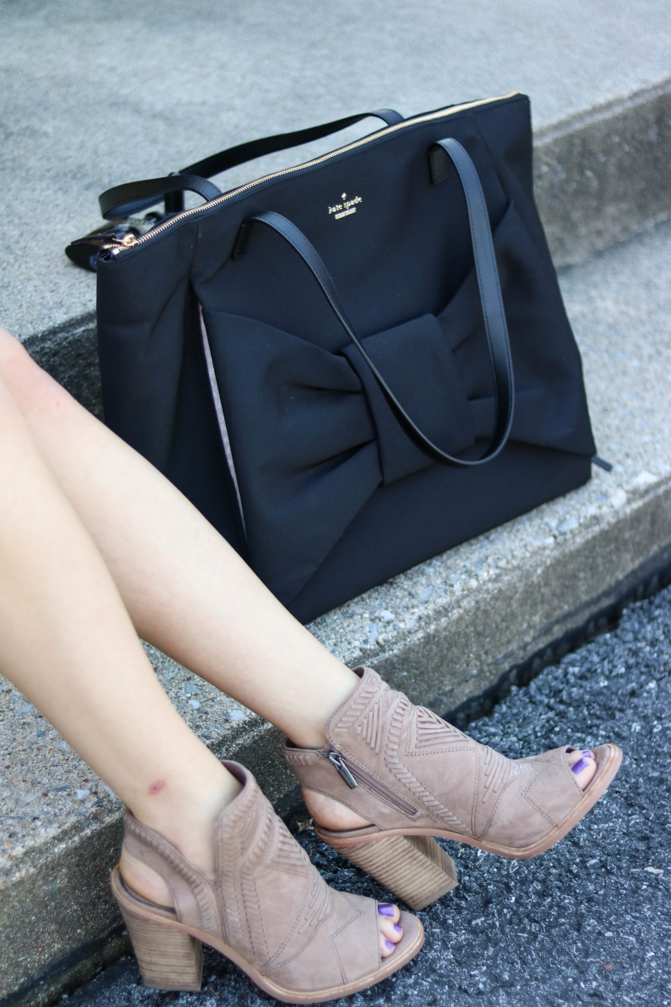 Things I Love - Kate Spade kenna Tote, Peep toe booties