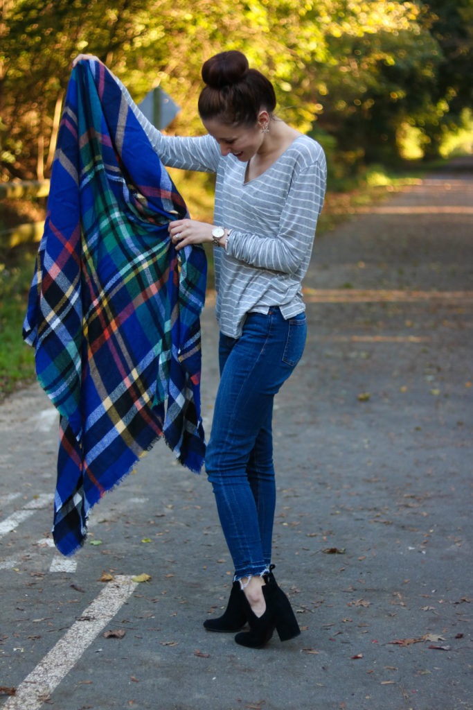 How to Wear a Blanket Scarf 10 Ways