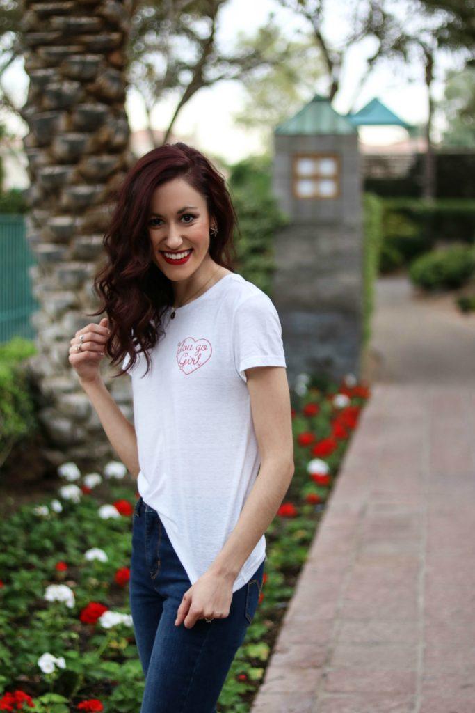 """You go girl!"" - OOTD + Phoenix, Arizona Travel Tips - Phoenix Travel Guide, Part 1 by popular Philadelphia travel blogger Coming Up Roses"