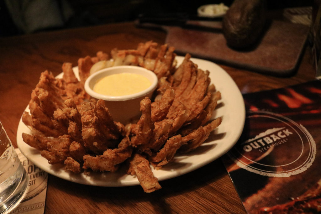 Outback Steakhouse Outback Bowl - 51 Things to do instead of checking your phone