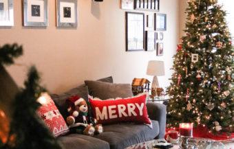 My Christmas Home Decor Tour + 7 Tips for Safe Decorating