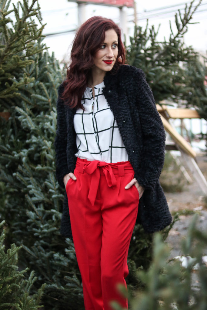2 Christmas Outfit Ideas you'll Lovelovelove, featuring Express, LAGOS