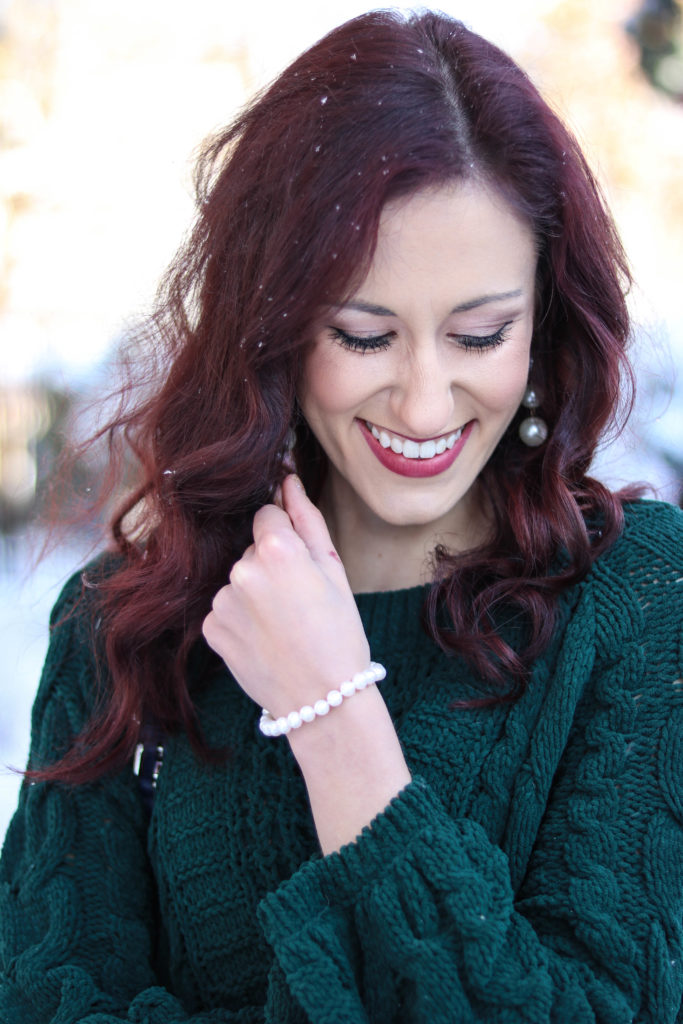 Trend to Try: Pearl Jeans - Trend to Try: PEARL JEANS by popular Philadelphia style blogger Coming Up Roses