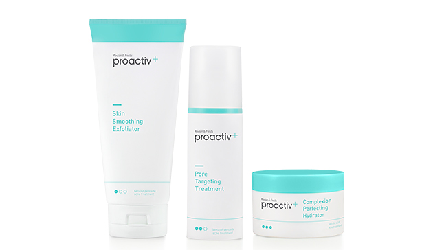 According to the Proactiv website: Proactiv Plus is an advanced acne-treatment system with added medicine, built-in hydration and a new, smart way to treat acne. It is an all-new 3-Step System — completely reformulated from the ground up — for the dual purpose of delivering clear skin + a 4/4.