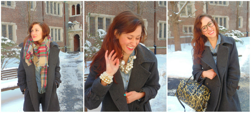 Accent on: Plaid, Pearls, & Bits of Black