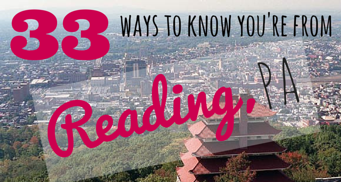 how to know you're from reading, pa by popular Philadelphia blogger, Coming Up Roses