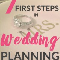 Our 1st Steps in Wedding Planning