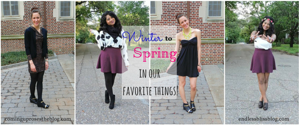 A Favorite Thing from Winter to Spring!