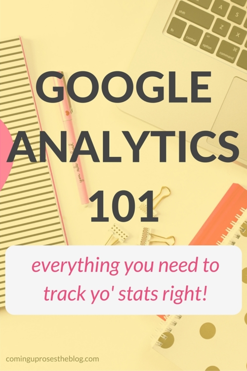 Google Analytics 101: Learn exactly what to look at and how to track your most important blog statistics!