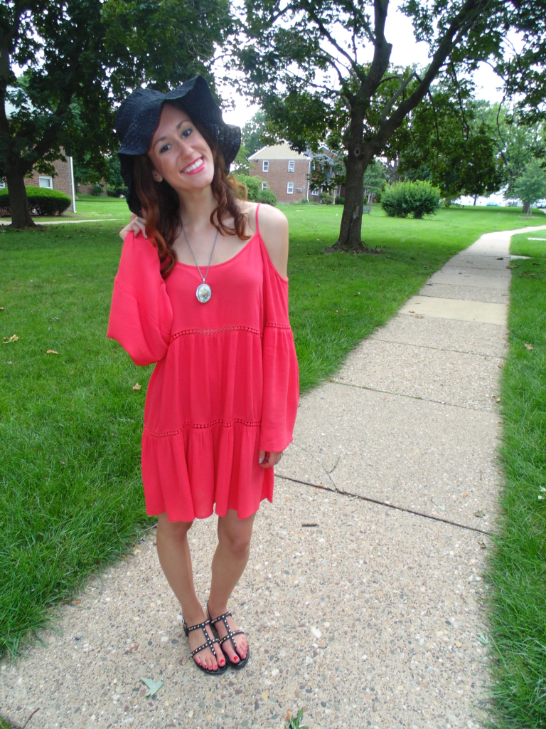 How to wear a cold-shoulder dress ten different ways featured by popular Philadelphia fashion blogger, Coming Up Roses