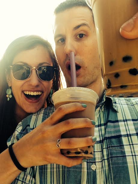 bubble tea date - 22 cute cheap summer date ideas by popular Philadelphia lifestyle blogger Coming Up Roses