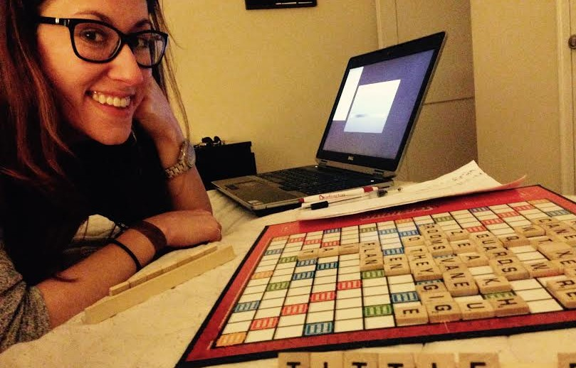 scrabble date for a fun, cheap summer! - 22 cute cheap summer date ideas by popular Philadelphia lifestyle blogger Coming Up Roses