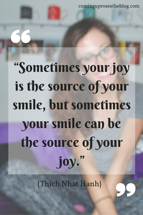 Smile quotes + teeth whitening tips on Coming Up Roses