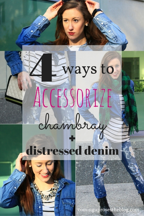 Accent On: Chambray Blues (+$120 Starbucks GIVEAWAY!)
