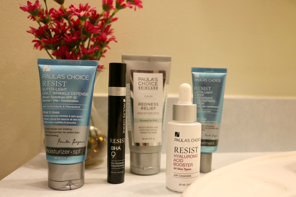 Paula's Choice Skincare - Spring skin routine on Coming Up Roses