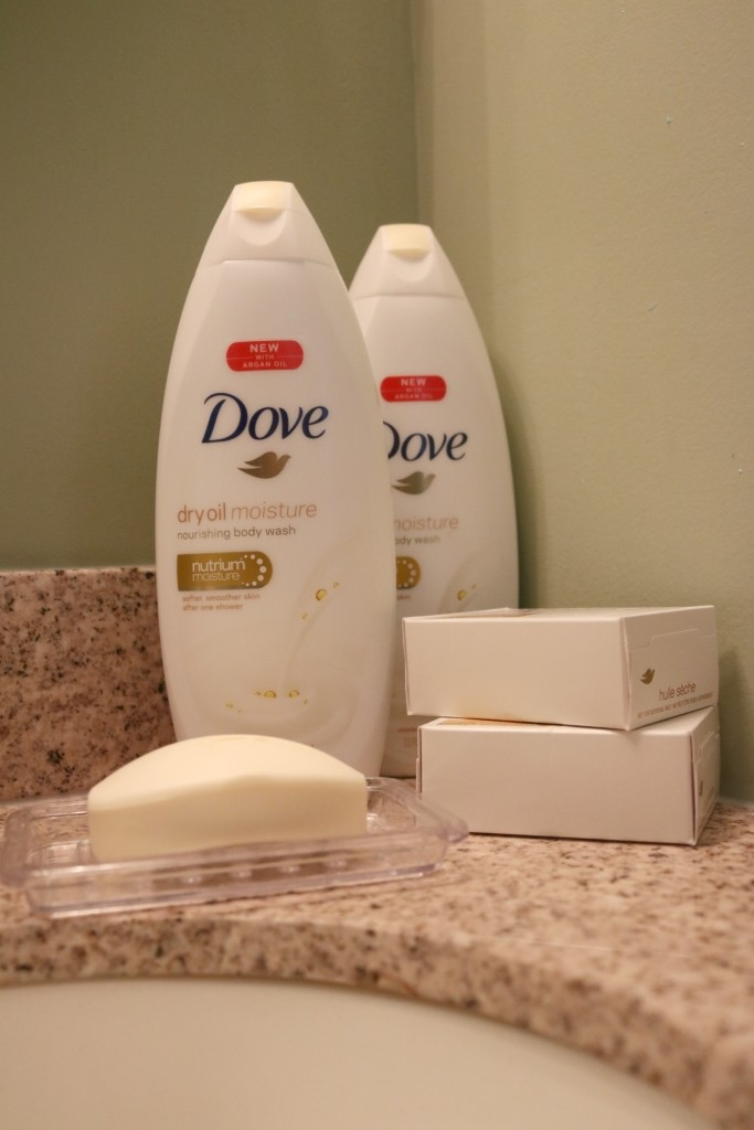 Dove Dry Oil Beauty Bar and Dove Dry Oil Moisture Body Wash - First House Essentials Checklist by popular Philadelphia lifestyle blogger Coming Up Roses