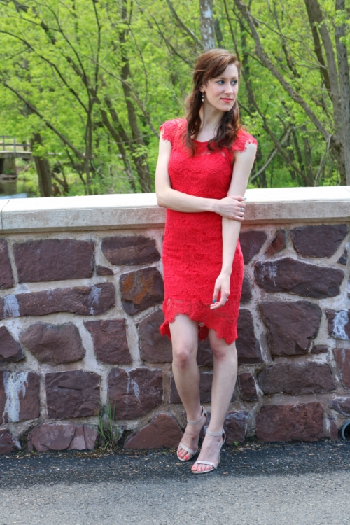 Under the Stars Red Dress from Raelynn's Boutique on Coming Up Roses - Every Rose has its Thorn Monday Mantra