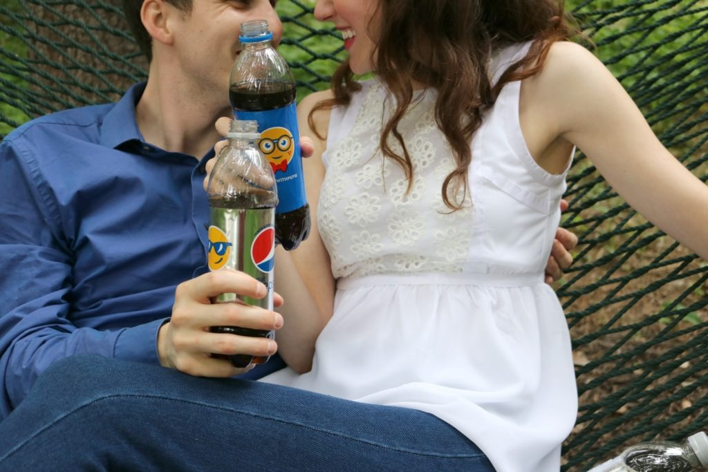 79 Days. #SayItWithPepsi on Coming Up Roses