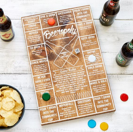 beeropoly - Father's Day Gift Idea on Coming Up Roses - 8 Fathers Day Gift Ideas featured by popular Philadelphia lifestyle blogger, Coming Up Roses