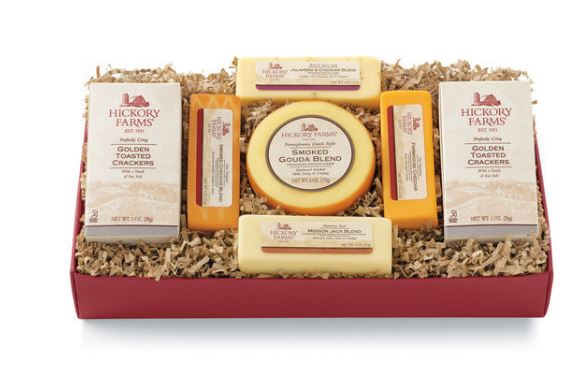 Hickory Farms cheese sampler - Father's Day Gift Ideas on Coming Up Roses - 8 Fathers Day Gift Ideas featured by popular Philadelphia lifestyle blogger, Coming Up Roses