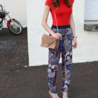 Trend to Try: Printed Soft Pants