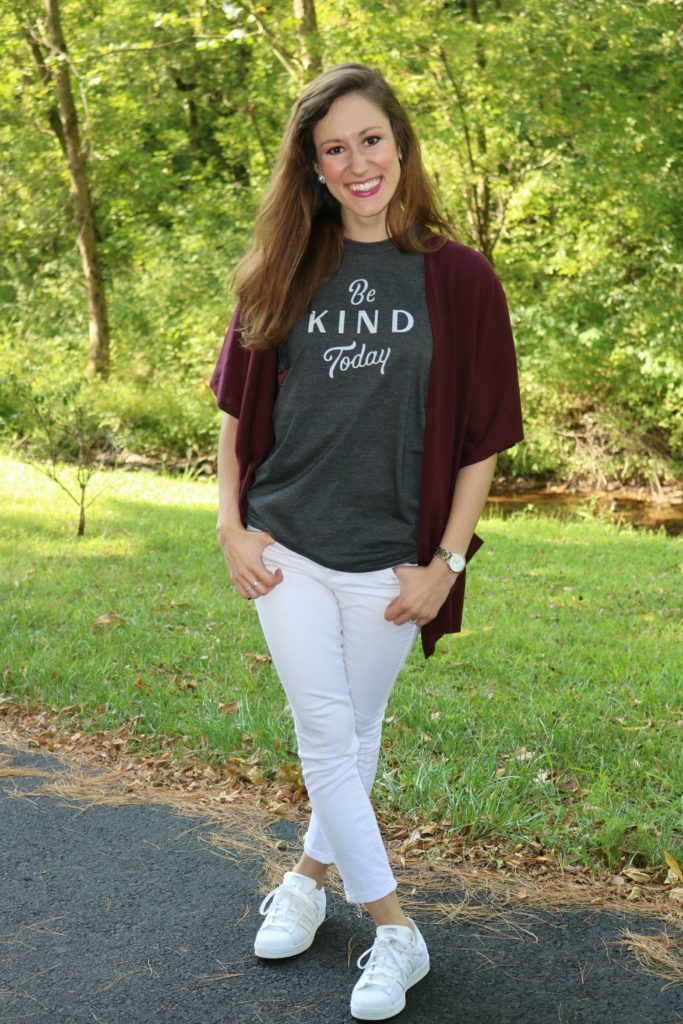 Be kind today. - Monday Mantra + Kindness Quote on Coming Up Rose
