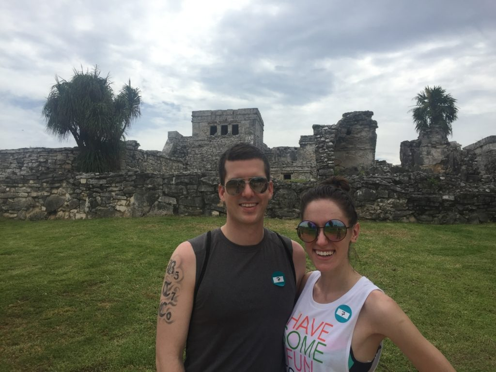 Our Riviera Maya Honeymoon featured by popular Philadelphia blogger, Coming Up Roses