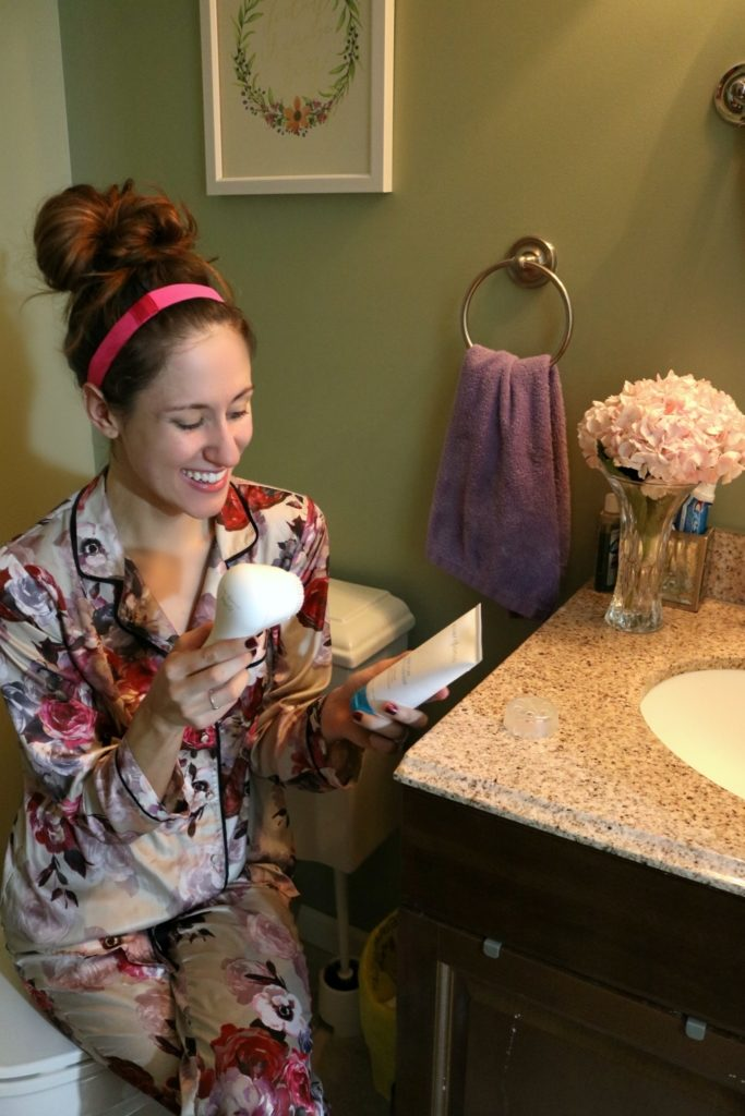 Fall Skincare Routine (Morning AND Night routine) with Clarisonic - on Coming Up Roses