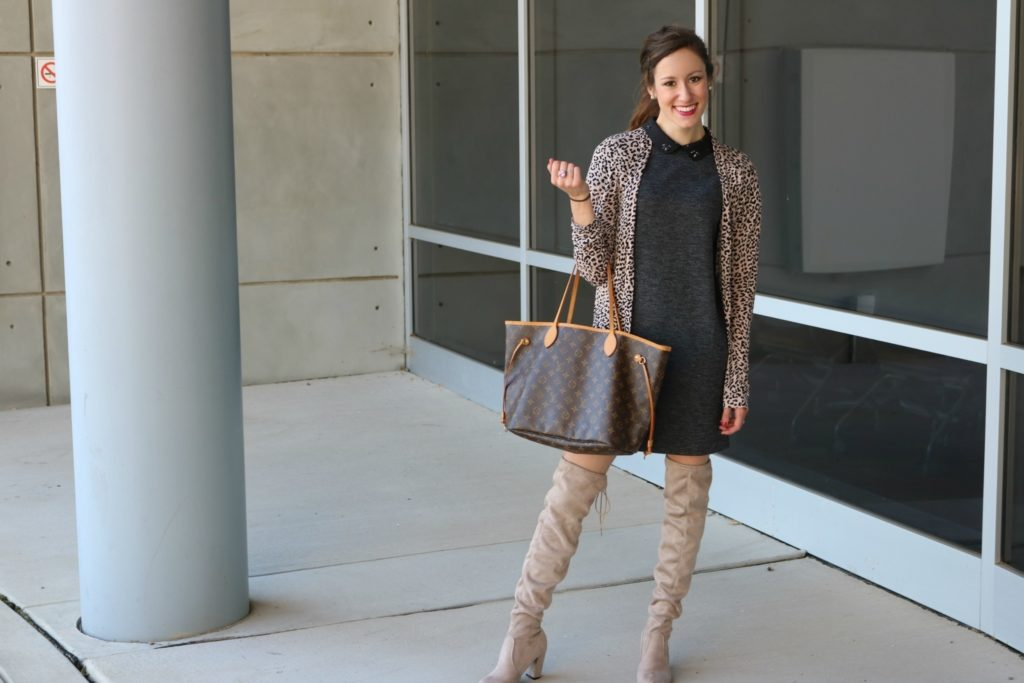 Trend to Try: Over the Knee Boots, on Coming Up Roses