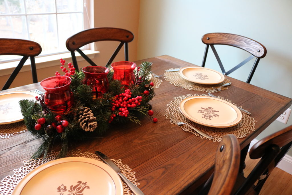 Christmas Home Decor Tour on Coming Up Roses