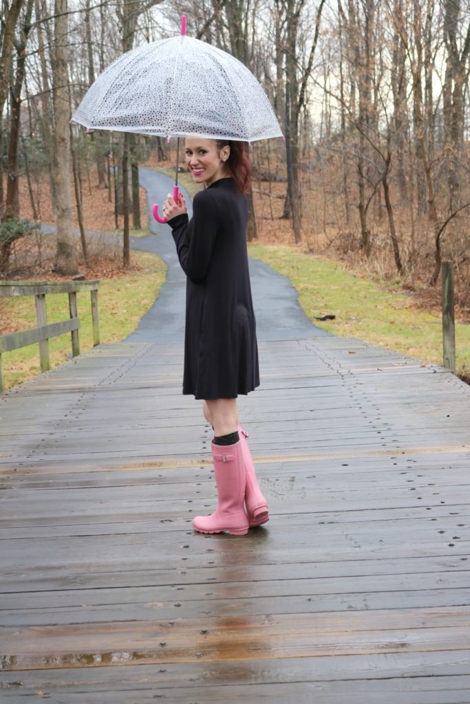 """I Will Dance in the Rain."" - Monday Mantra on Coming Up Roses - How to be a Fashion Blogger: 6 Pose Ideas for Better Style Shots by popular Philadelphia fashion blogger Coming Up Roses"