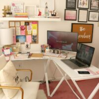 House Tour: Home Office Decor Ideas