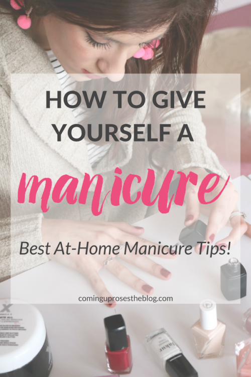 Ain't nobody got time (or $$$) for constant salon runs! Popular Philadelphia beauty blogger Coming Up Roses shares how to give yourself a Self Manicure, with some of the best at-home manicure tips. Click here now for all the info!