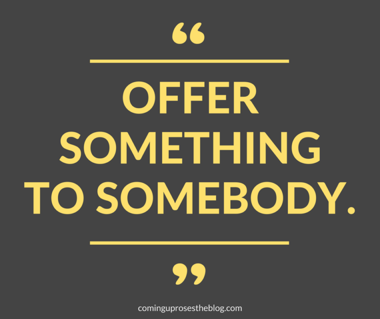 """""""Offer Something to Somebody."""" - Monday Mantra on Coming Up Roses. on the power of music in life. with Wynton Marsalis and the Philadelphia Jazz Festival"""