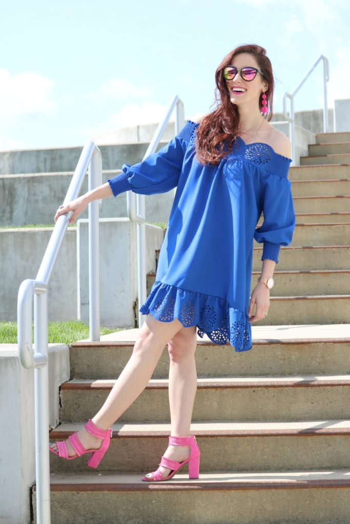 Blue ruffle dress under $20 - 12 Powerful Things to Remind Yourself Today