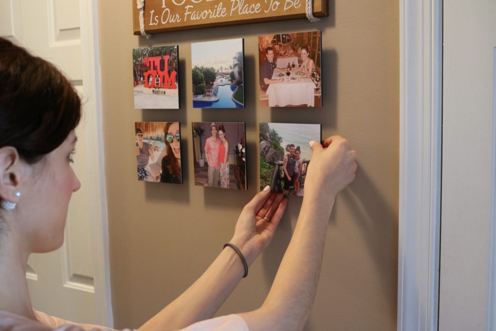 How to make a gallery wall - with Shutterfly - How to Master your Gallery Walls with Shutterfly by popular Philadelphia style blogger Coming Up Roses
