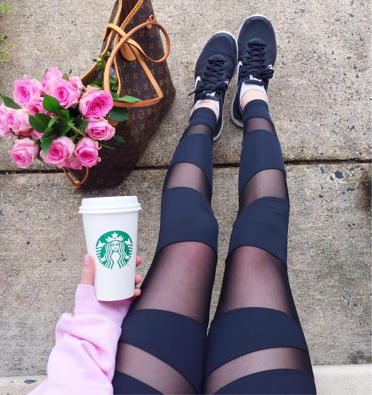 Black cutout leggings - How to get to inbox zero - How to FINALLY get to Inbox Zero by popular Philadelphia lifestyle blogger Coming Up Roses